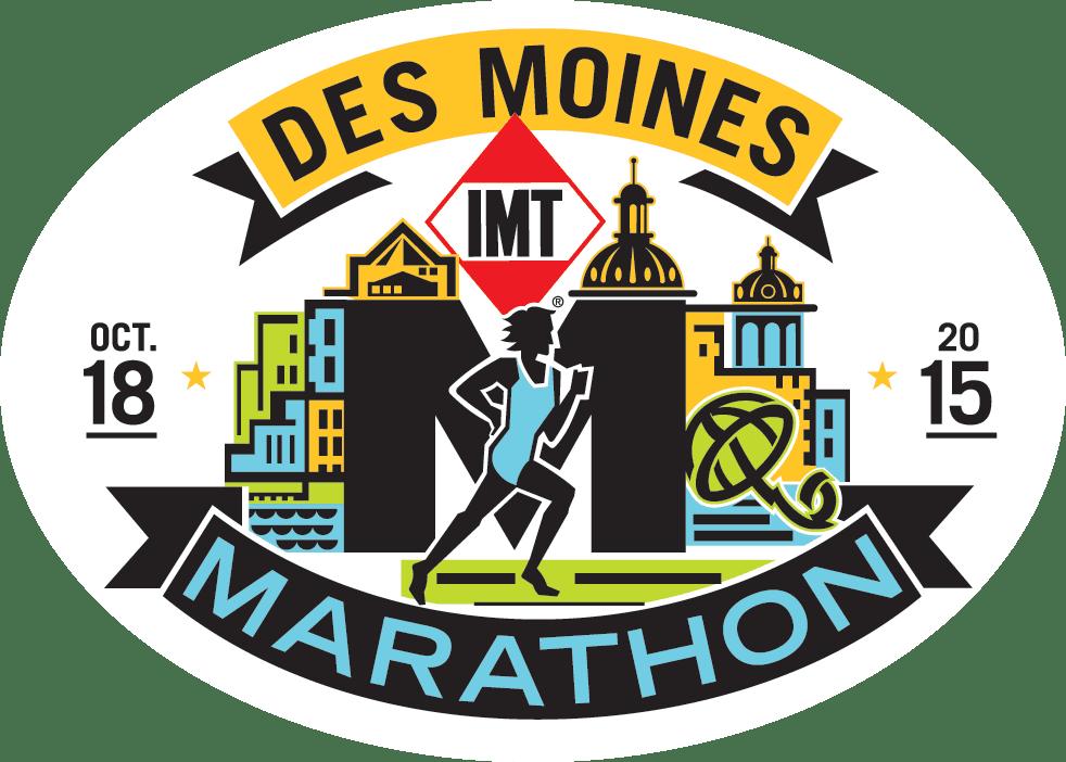 IMT Des Moines Marathon logo