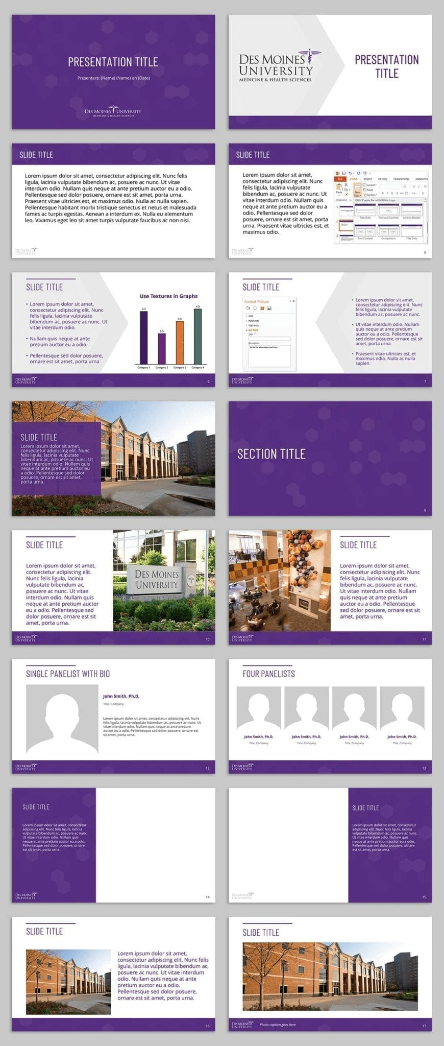 DMU PowerPoint Examples