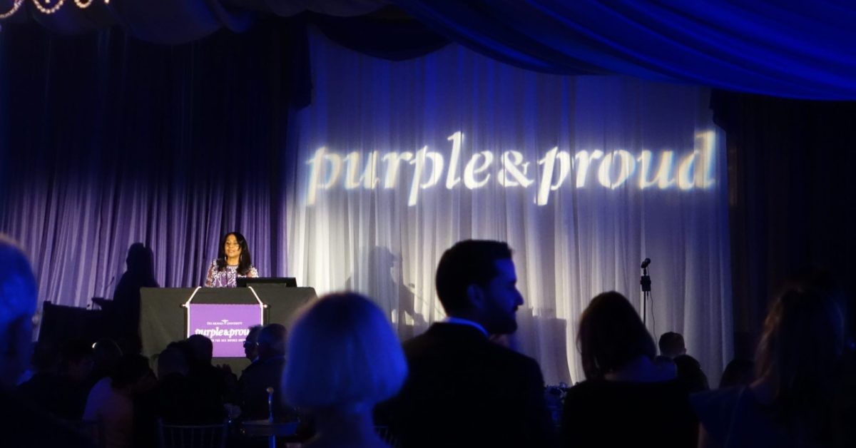 Purple & Proud: the Campaign for Des Moines University