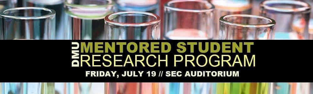 DMU Mentored Student Research Program
