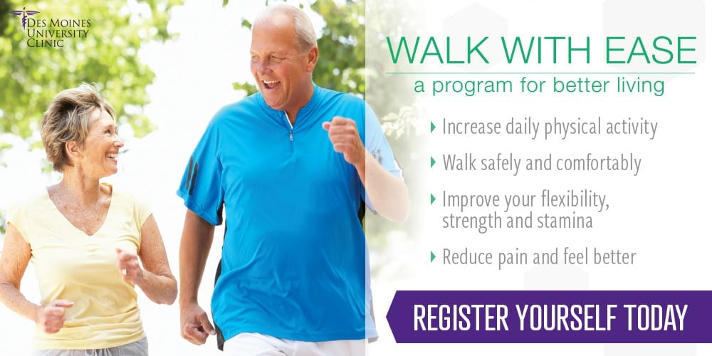 Des Moines University Clinic Physical Therapy, Walk With Ease Program
