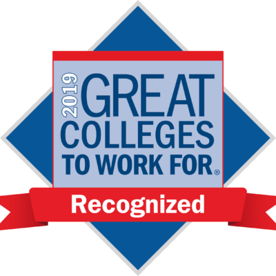 2019 Great Colleges to Work For Recipient