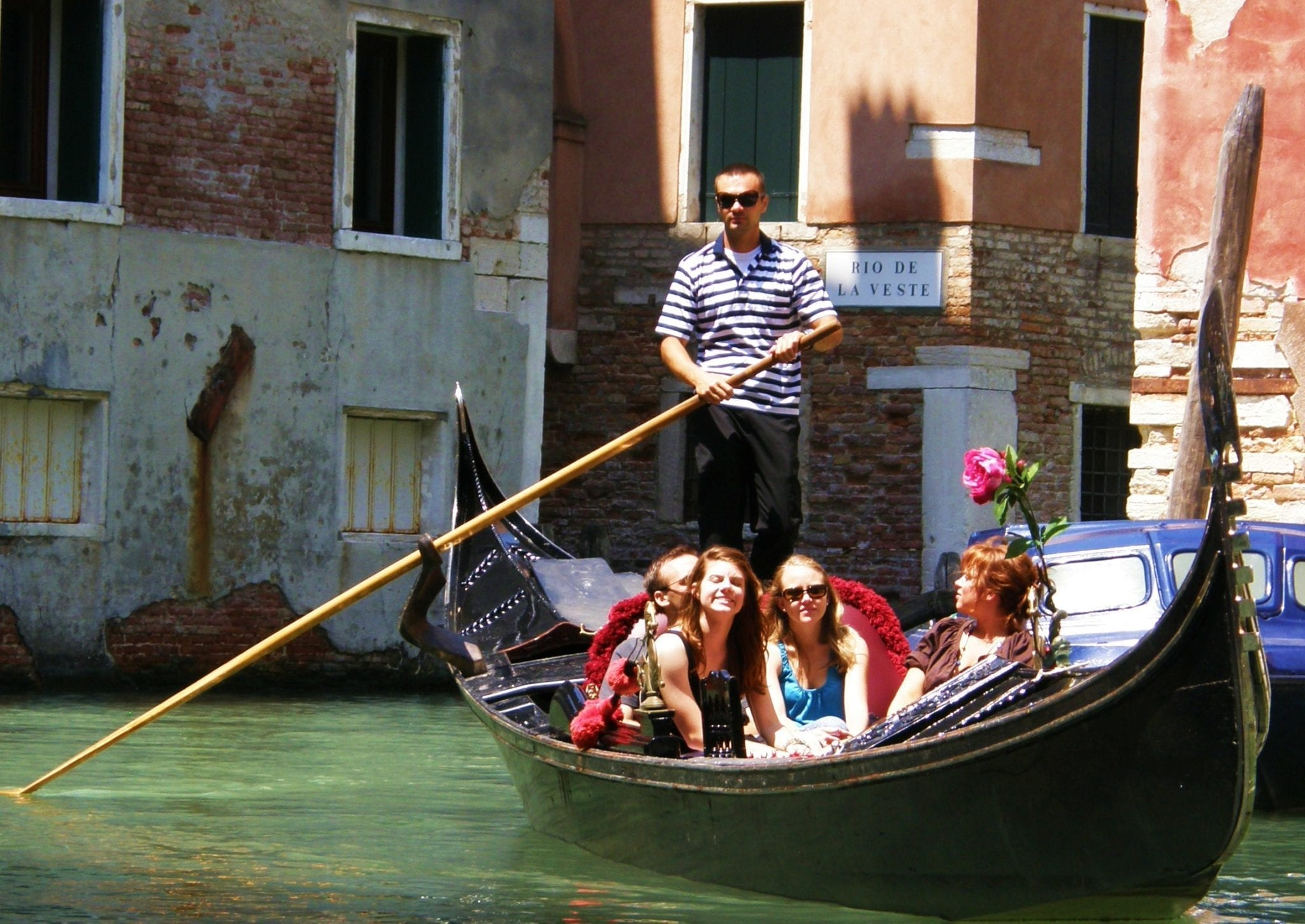 Well hello there, Mr. Gondolier!