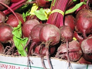 I got some beets, yeah!