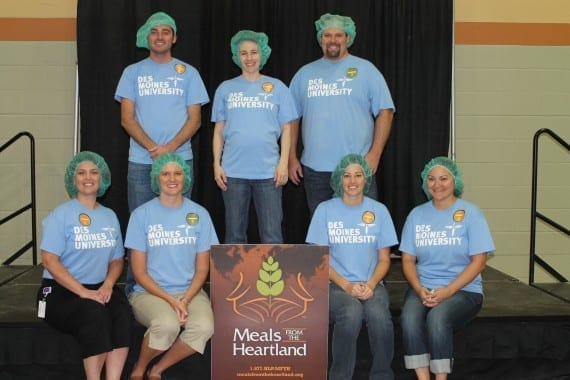 Meals From the Heartland - DMU Admissions Office