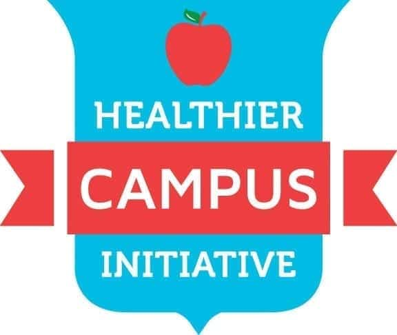 Healthier Campus Initiative logo