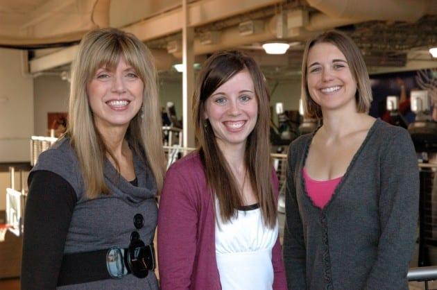 Wellness Center staff Joy, Nicole and Missy