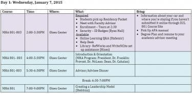 MHA-Executive-Residency-Schedule