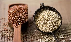 Quinoa is available in several varieties, all good.