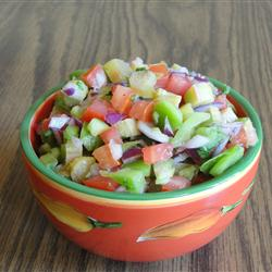Rhubarb-salsa