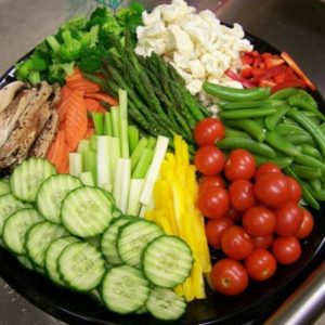 Vegetable-tray