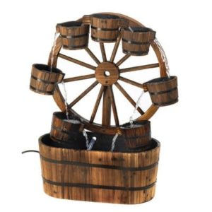 Wagon-Wheel-Bucket