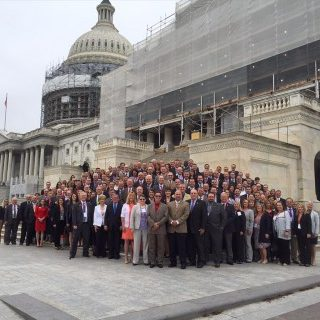 The Greater Des Moines Partnership flew in 200 local leaders to DC to advocate for policies important to central Iowa.