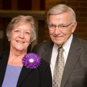 Barbara Harken Monsour and Roger Monsour, D.O.'63