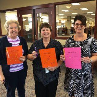 DMU faculty members Kathy Mercuris, Pamela Duffy and Laura Delaney