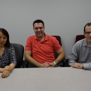 Drs. Yuan, Duric and Wauson hope to find solutions leading to better treatment for depression.