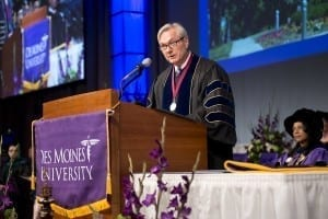 Michael Osterholm, Ph.D., M.P.H., shared words of wisdom with the Class of 2015.