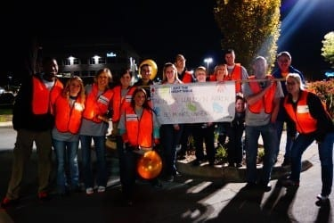 Physician assistant students raised more than $5,000 for leukemia and lymphoma research and patient support.