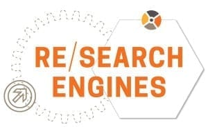 Re/Search Engines: the pursuit of new knowledge  at Des Moines University