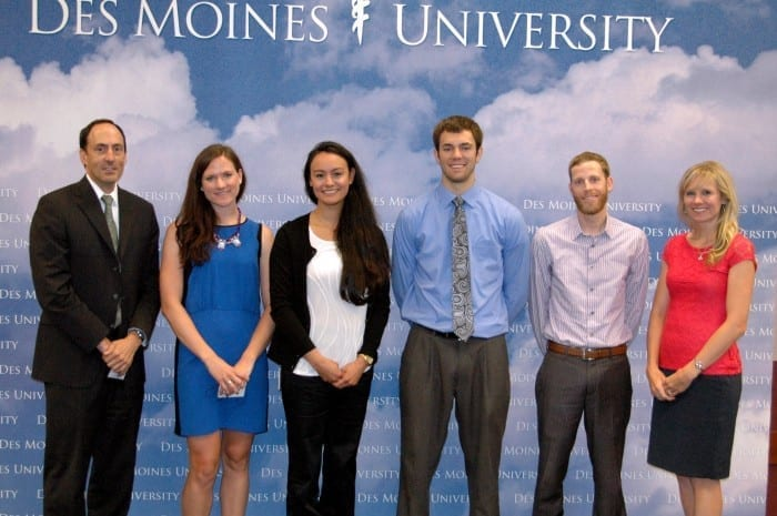 Mentored Student Research Program scholarship winners