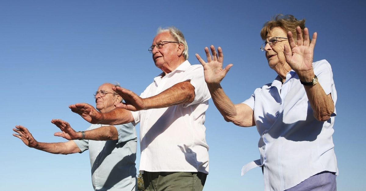 Tai Chi is a great exercise for older adults and those with arthritis.
