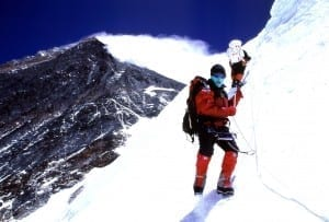 Charlie Wittmack wasn't satisfied with just climbing Mount Everest.